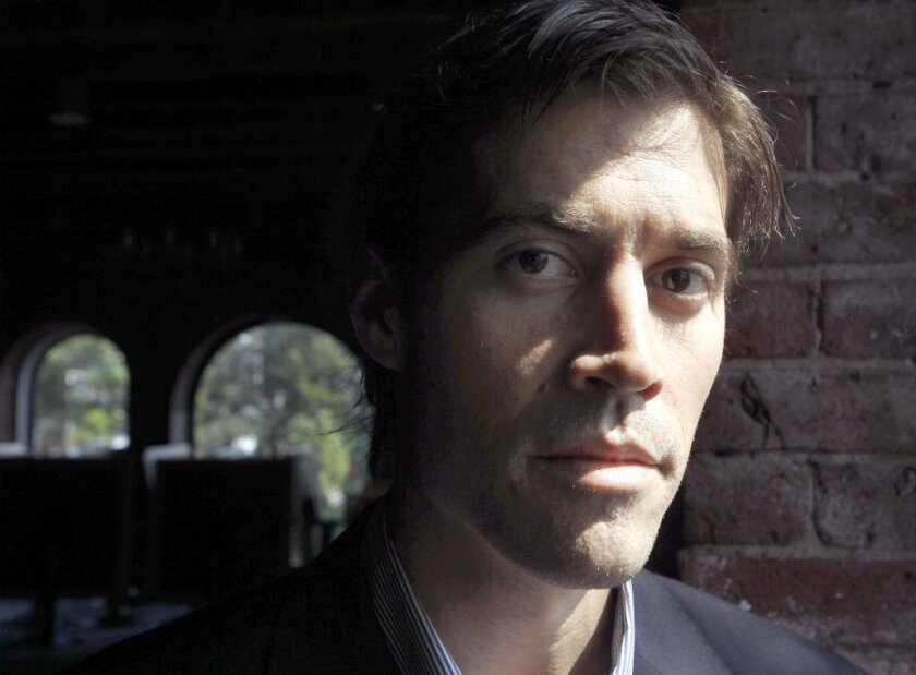 Freelance journalist James Foley, who, along with fellow journalist Steve Sotloff, was murdered by ISIS militants. Both were taken captive covering the conflict in Syria.