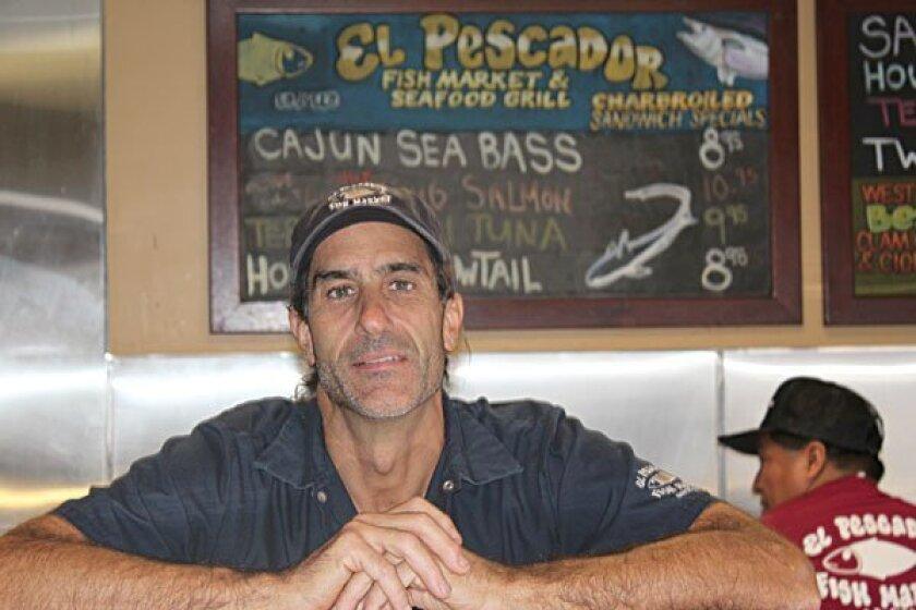 Sean Shannon has owned El Pescador since it moved to La Jolla in 1985. Photo: Dave Schwab