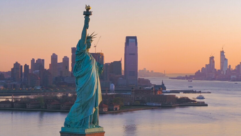 The Statue of Liberty, 'Liberty: Mother of Exiles'