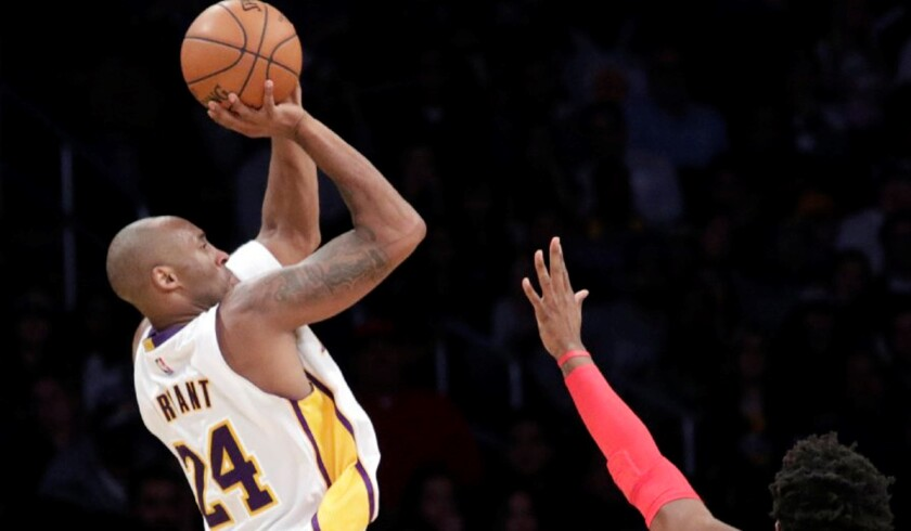 The Kobe Bryant Jump Shot Legacy Lives On Through Fans Los Angeles Times