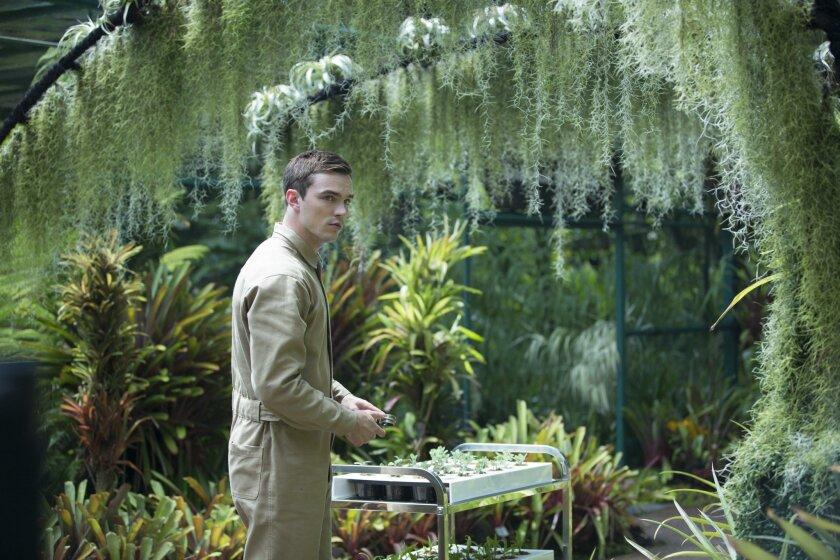 """Nicholas Hoult as Silas in """"Equals."""""""