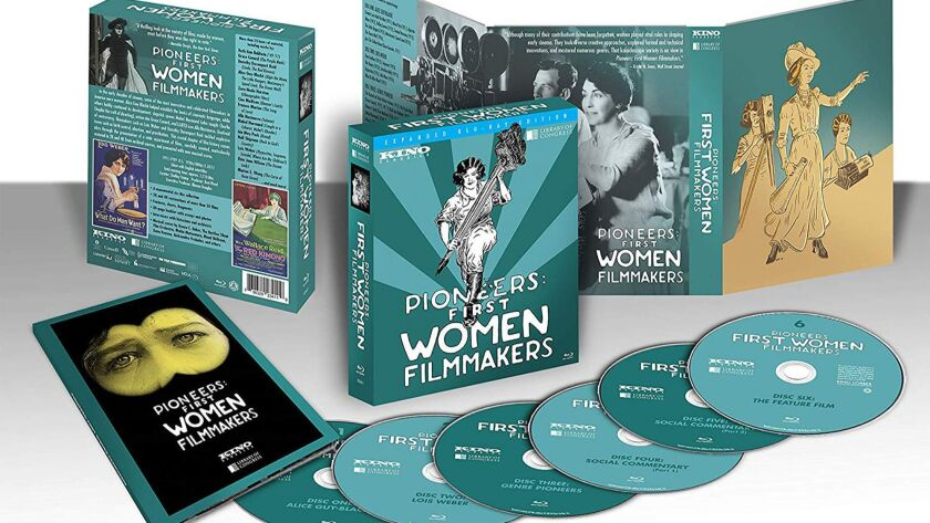 Pioneers: First Women Filmmakers Dozens of meticulously restored titles are gathered together in a c
