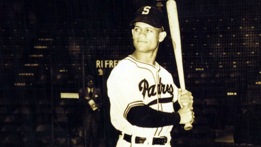 Signed by the San Diego Padres in 1947 as the first black player in the Pacific Coast League, San Diego native John Ritchey became the Pacific Coast Leagues Jackie Robinson breaking the leagues color barrier, Debuting with the San Diego Padres in 1948, he batted .323 that year.