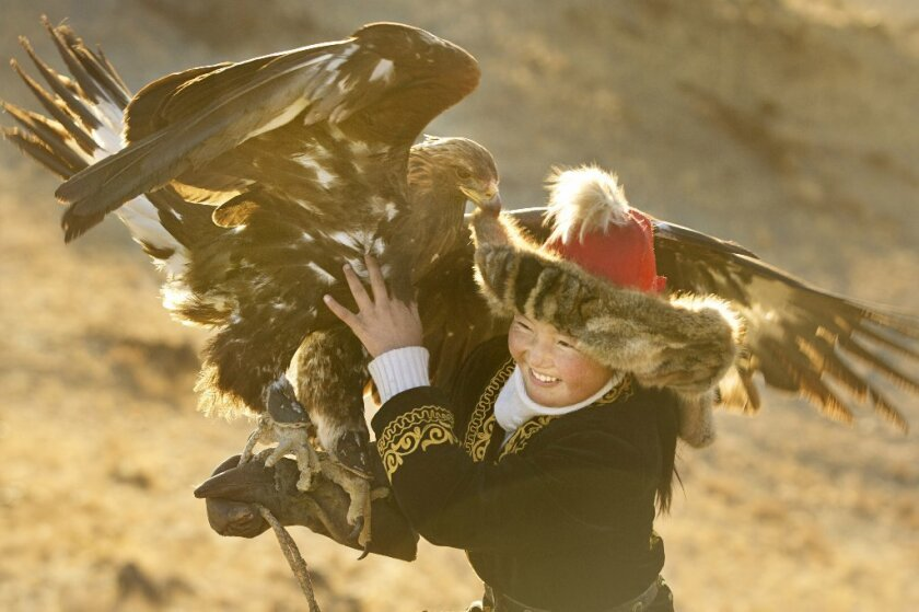 Scene from 'The Eagle Huntress'