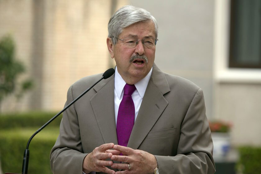 Terry Branstad, the U.S. ambassador to China, in 2017.