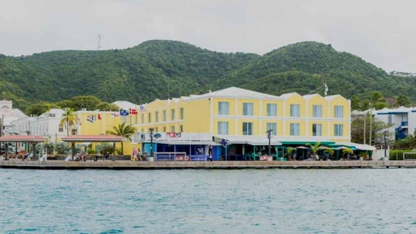 Caravelle Hotel & Casino sits on Christiansted's waterfront, not far from where a young Alexander Hamilton worked in St. Croix.