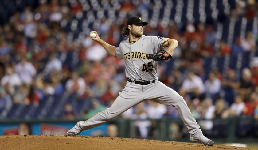 Gerrit Cole, who went 12-12 with a 4.26 earned-run average last season.