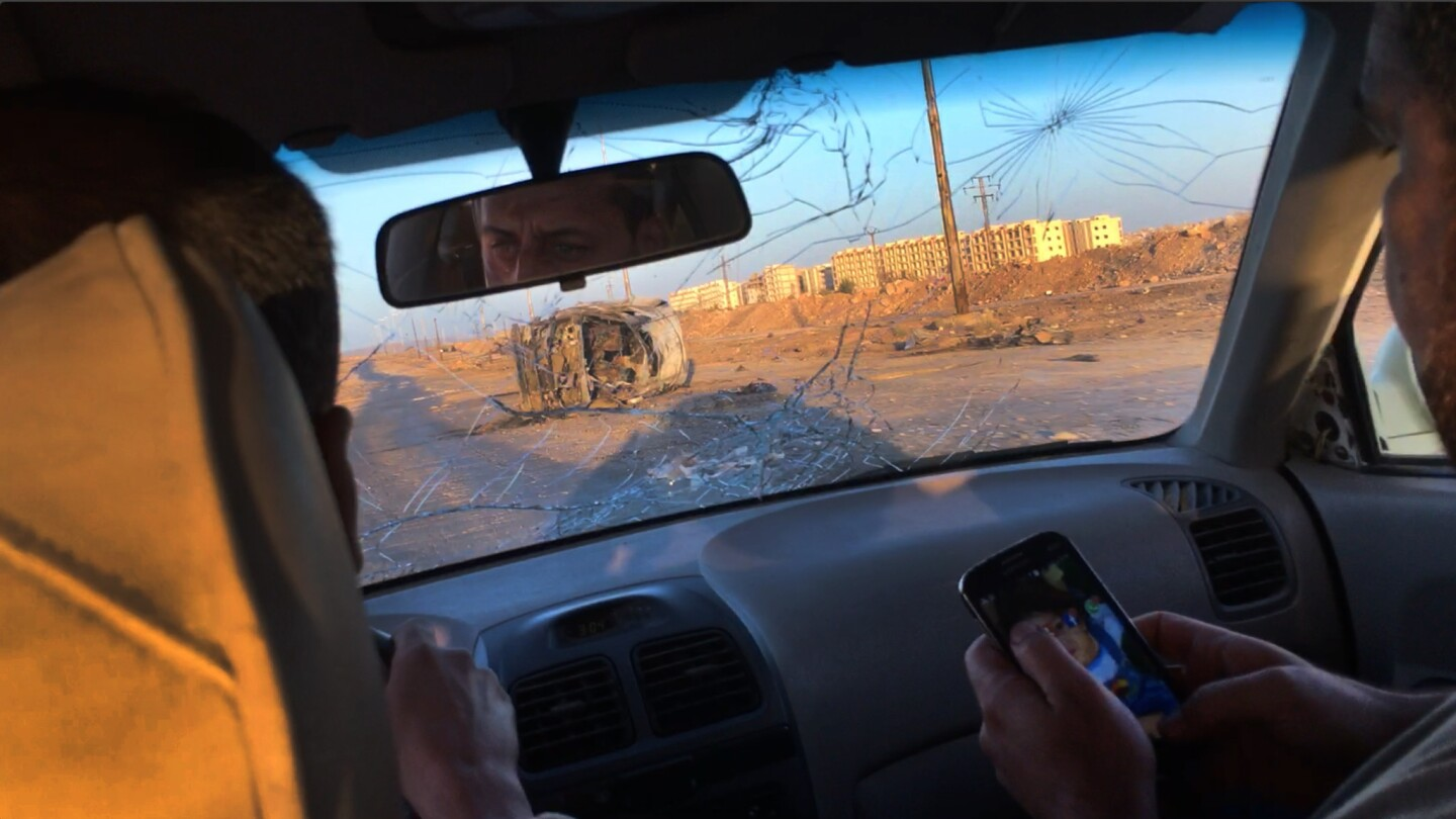 Dr. Zaher Sahloul, a 50-year-old critical care specialist from Chicago, filmed his harrowing ride into Aleppo, Syria, to survey hospitals and deliver medical supplies.