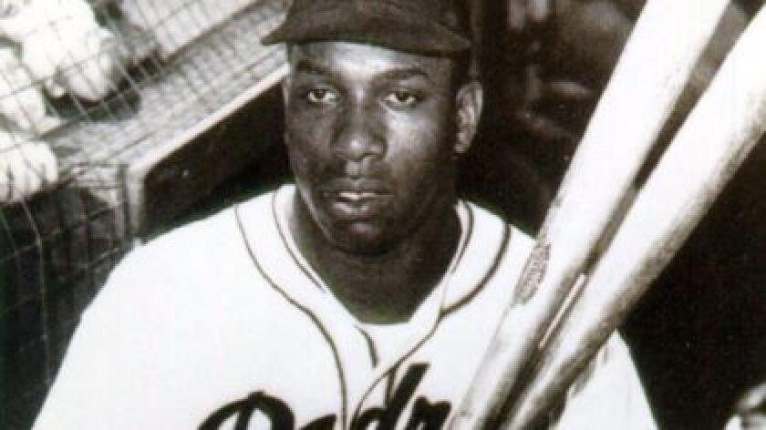 Slugger Luke Easter once wore a Padre jersey before joining the Cleveland Indians MLB roster in 1949.