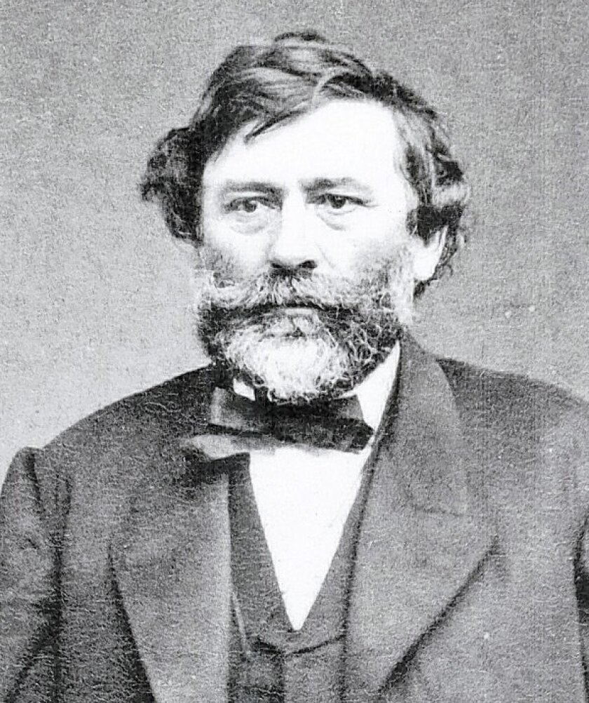 Agoston Haraszthy moved to San Diego in 1849.
