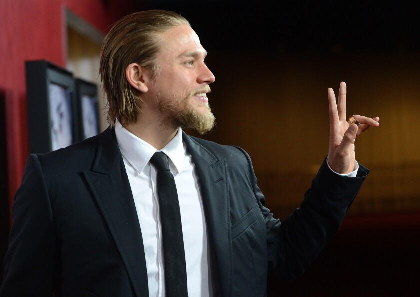 """FILE: Charlie Hunnam Drops Out Of """"Fifty Shades of Grey"""" Film"""