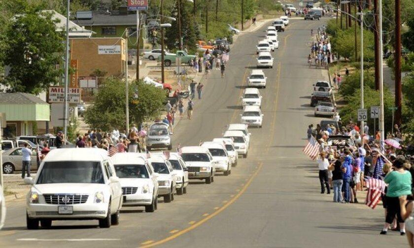 Prescott memorial service