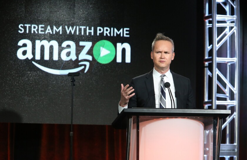 The morning after its showing at the Golden Globes, Amazon talks up new shows