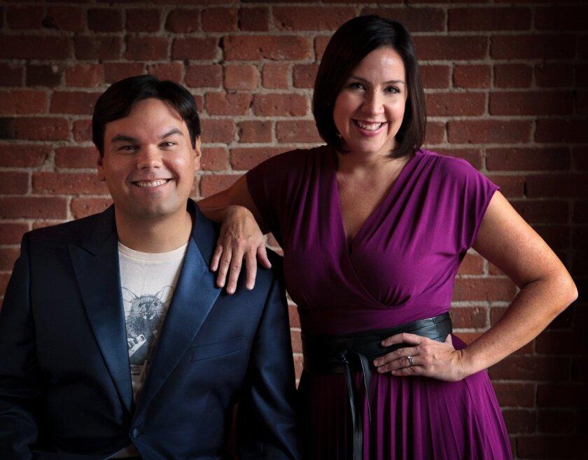 Robert Lopez and Kristen Anderson-Lopez.