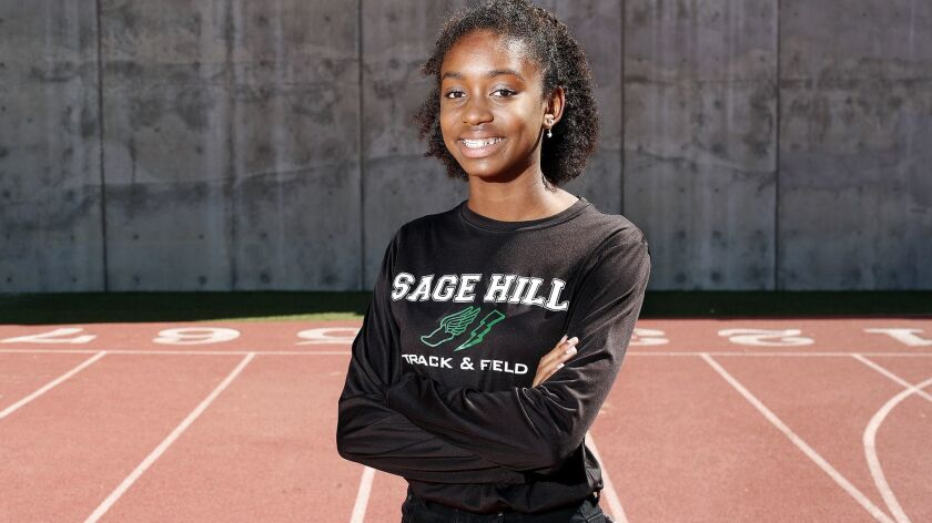 Sage Hill School senior sprinter Sydney McCord is the Daily Pilot High School Female Athlete of the