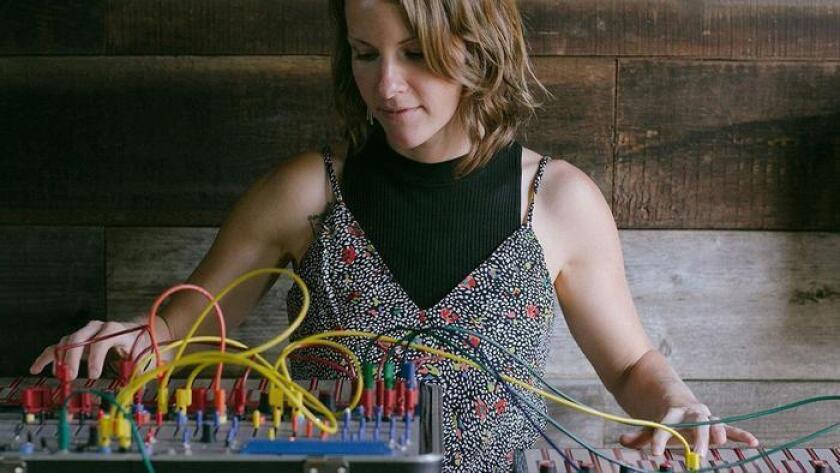 Vintage analog synthesizer Kaitlyn Aurelia Smith. (Courtesy photo)