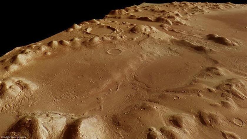 La NASA dio hoy por perdido al robot Opportunity, que investigó la superficie del planeta Marte durante 15 años y que resultó dañado por una catástrofe natural. EFE/SOLO USO EDITORIAL