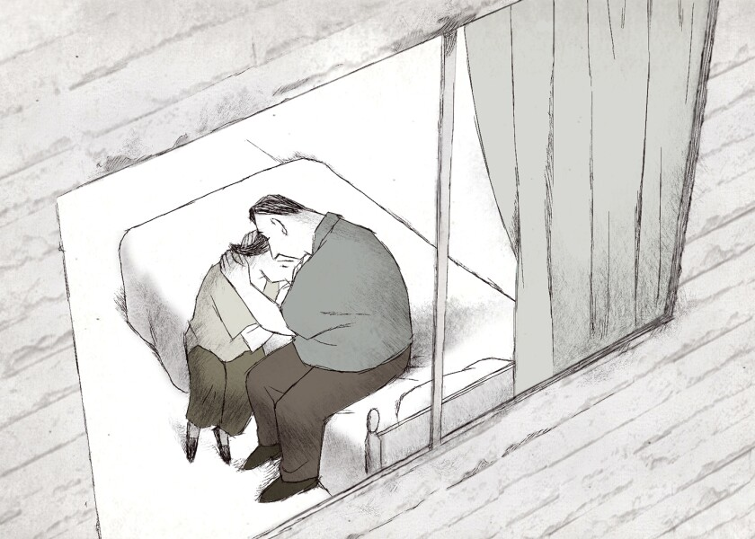 """Oscar nominee for animated short """"If Anything Happens I Love You,"""" directed by Will McCormack and Michael Govier."""