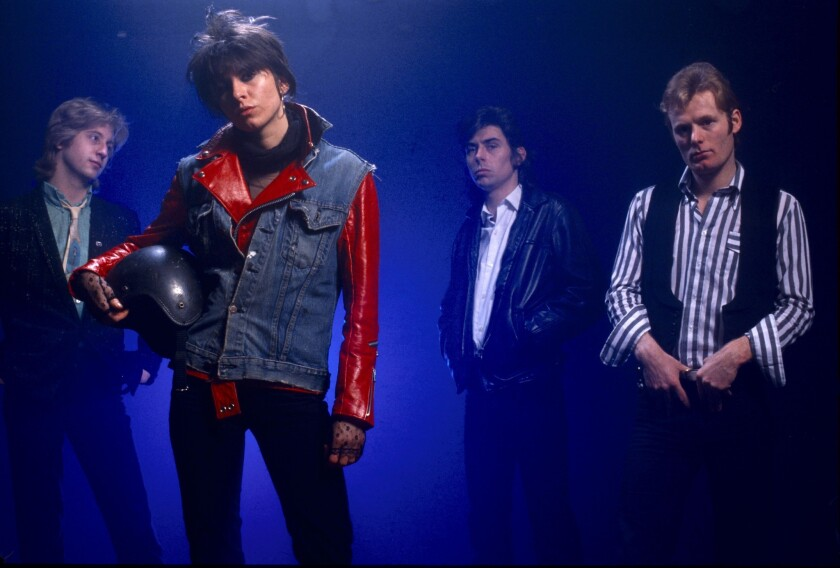 The Pretenders in 1979. From left: James Honeyman-Scott, Chrissie Hynde, Pete Farndon and Martin Chambers.