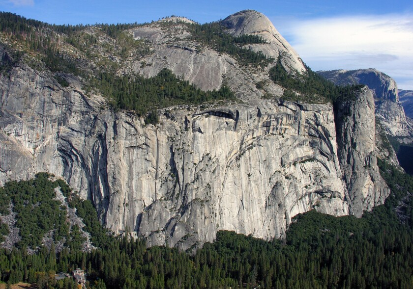 """Yosemite's granite cliffs are """"breathing,"""" and heat can make them fall"""