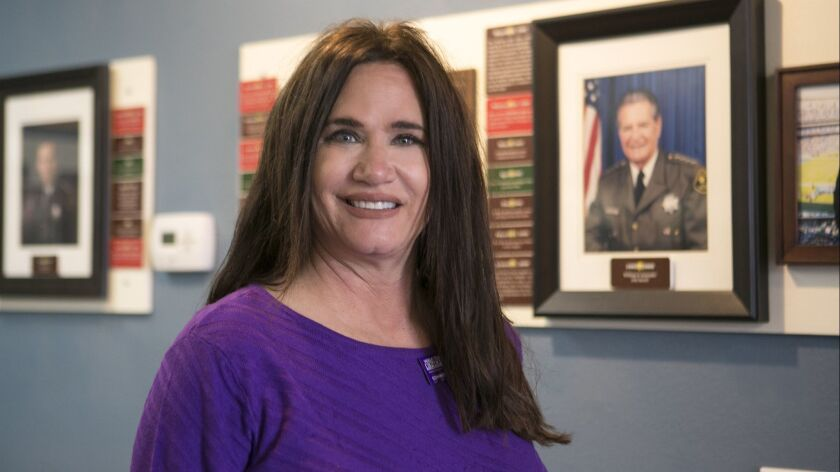 Making a Difference profile on Randi Kolender Hock of Del Mar. Not long after her father, Sheriff Bill Kolender, retired in 2009, he was diagnosed with Alzheimer's disease. Ever since then she has been a tireless fund-raiser and, more recently, an advocat