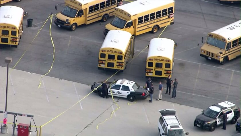 Special needs student found dead on bus