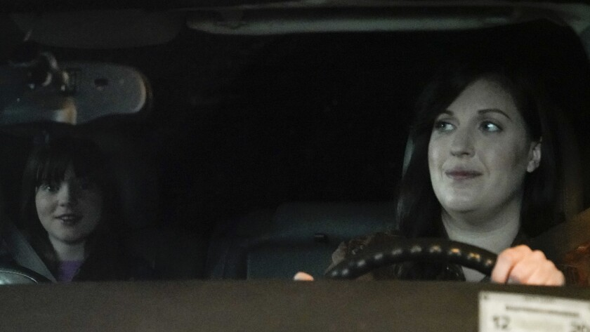 "Alexa Swinton, left, and Allison Tolman in a new episode of the drama ""Emergence"" on ABC."