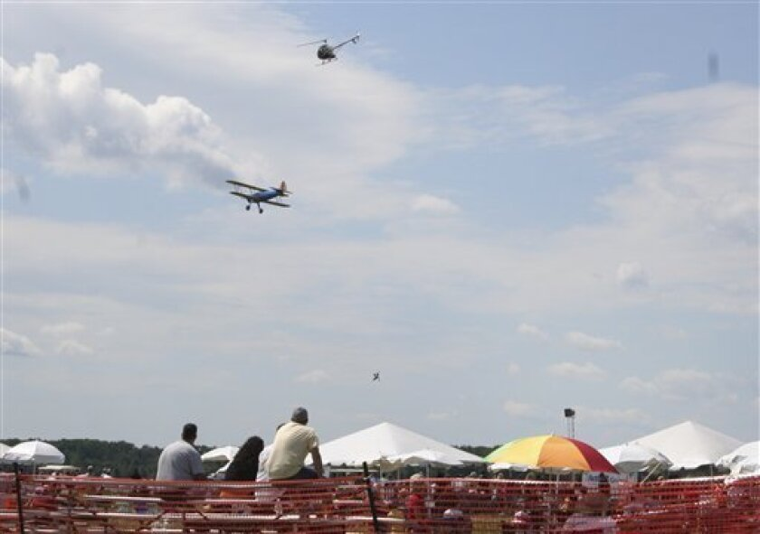 wing walker dies after fall at michigan air show the san diego union tribune wing walker dies after fall at michigan