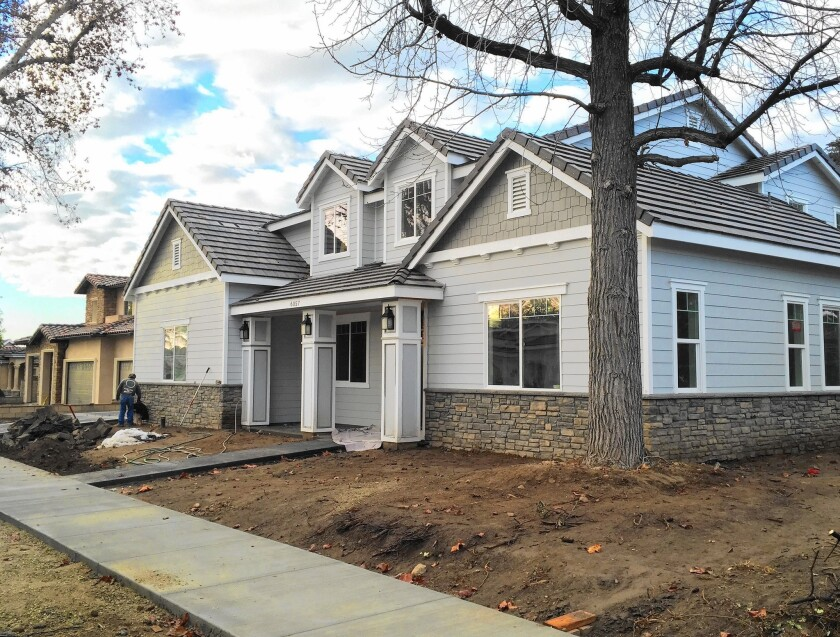 Larger homes, smaller yards