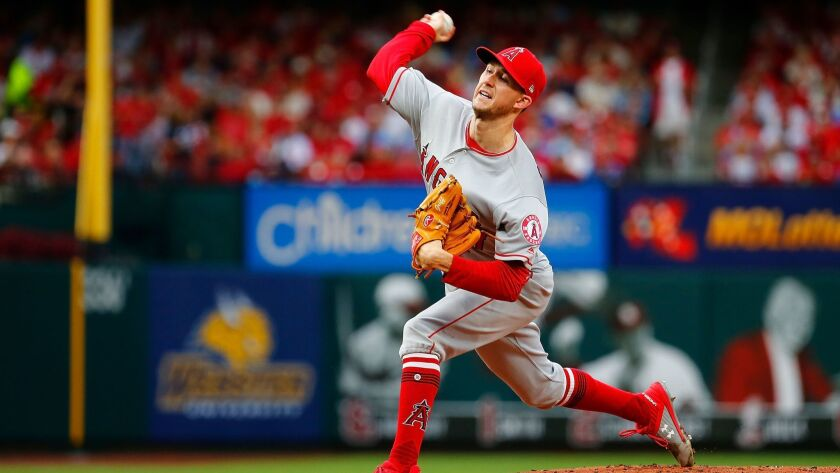 Los Angeles Angels of Anaheim v St Louis Cardinals