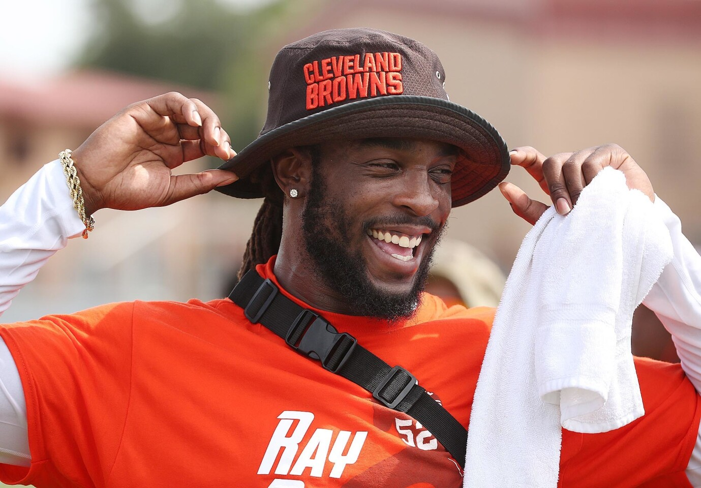 Ray Ray Armstrong Football Camp in Sanford