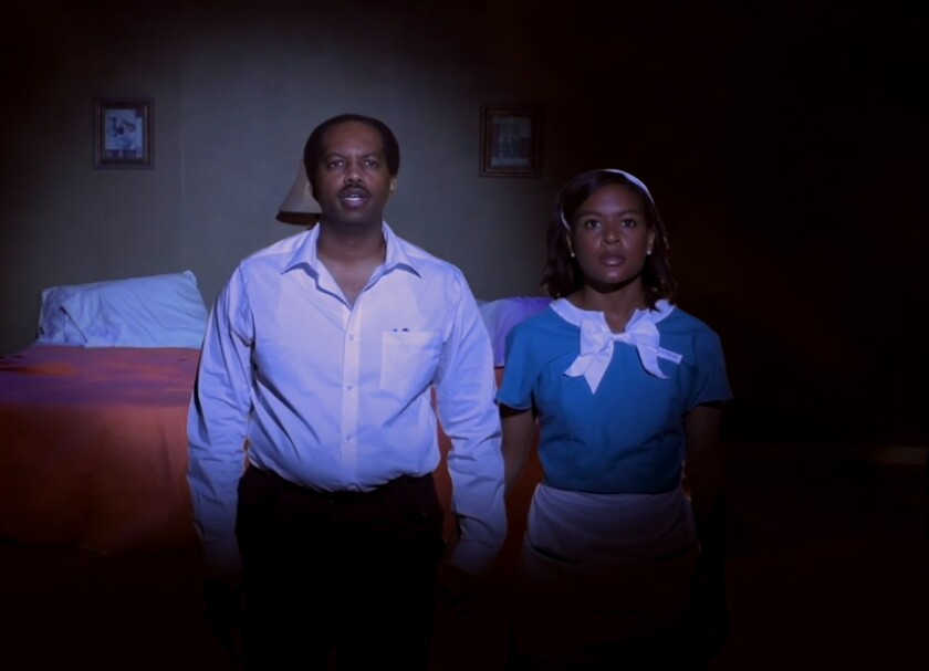 """Caiel Noble and Ashley Graham star in """"The Mountaintop"""""""