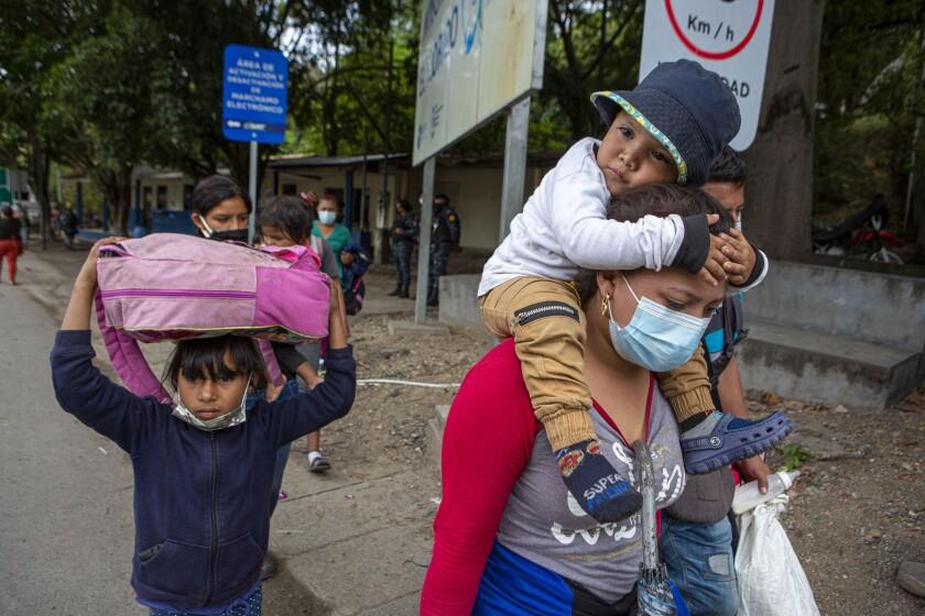 EEUU a migrantes centroamericanos: No lleguen a la frontera