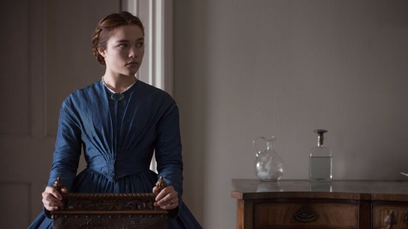 "Florence Pugh in William Oldroyd's critically acclaimed romantic thriller ""Lady Macbeth."""