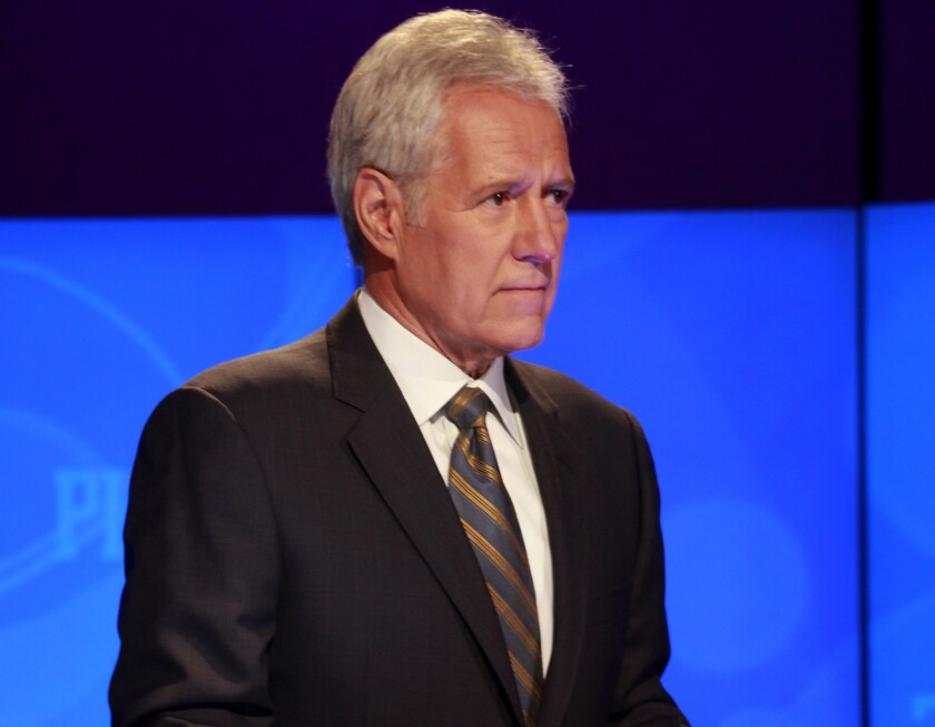 "During Tuesday night's ""Final Jeopardy"" round, host Alex Trebek shared his pronunciation of the GIF image format."