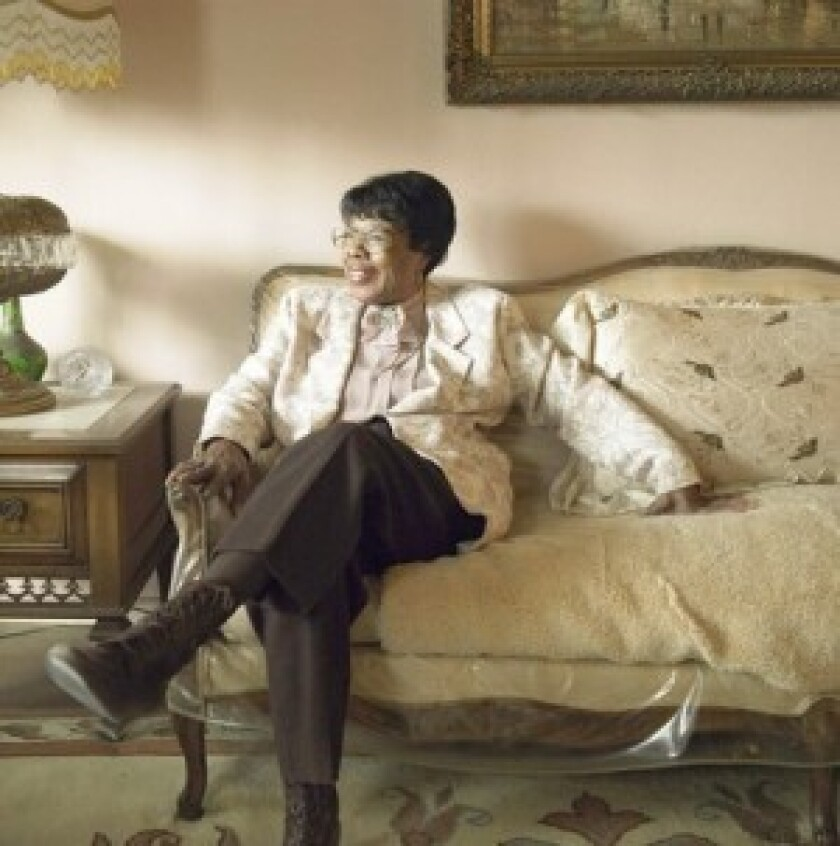 """Marie Knight was best known for her gospel duets with Sister Rosetta Tharpe, including """"Up Above My Head"""" and """"Didn't It Rain."""" She toured with the gospel legend in the late 1940s and made a late-in-life comeback as a solo artist."""