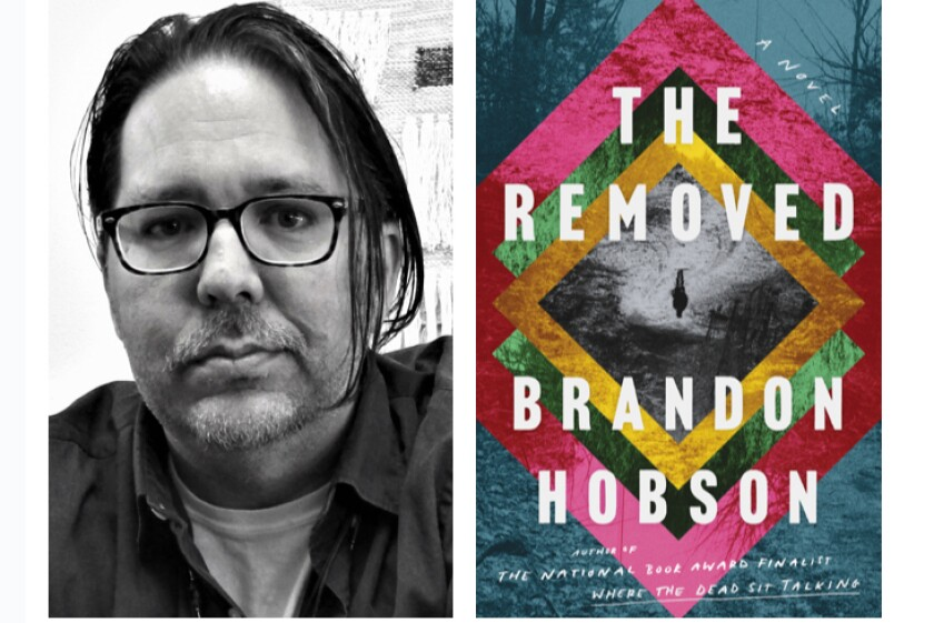 "Author Brandon Hobson of ""The Removed."""
