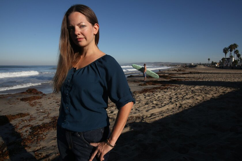 Gretchen Newsom, president of the Ocean Beach Town Council and political director for San Diego's branch of the International Brotherhood of Electrical Workers, has announced she will run for mayor of San Diego in 2016. She is running  on a platform of affordable housing for the working class and m