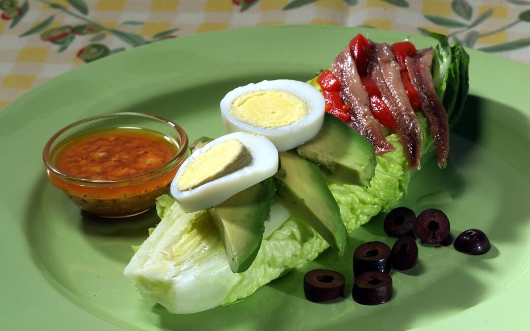 Hearts of Romaine Salad