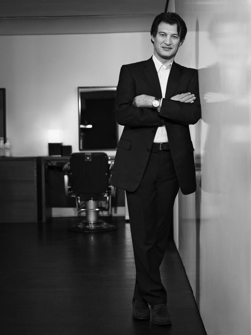 Frederic Fekkai is shown at his New York salon.