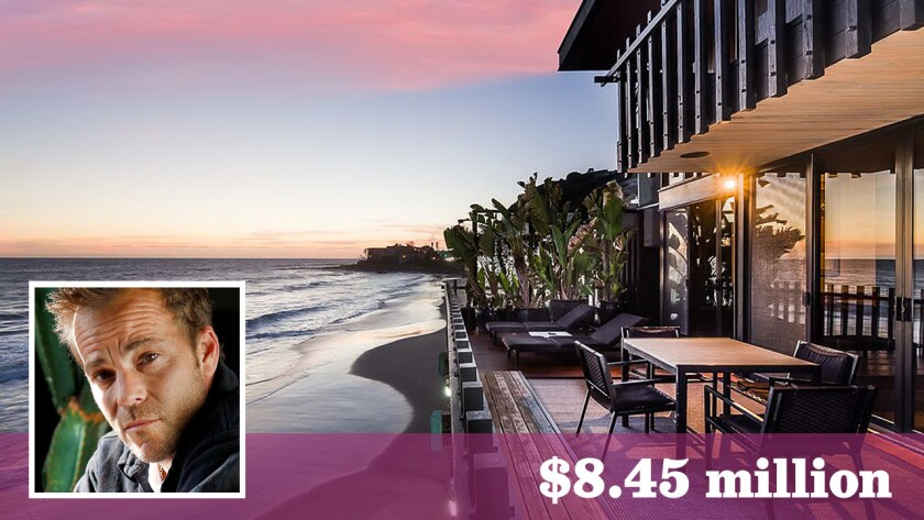 Actor Stephen Dorff has put his Buff & Hensman-designed home in Malibu on the market for $8.45 million.