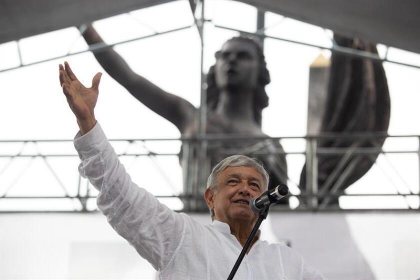 Imagen de archivo del presidente electo de México, Andrés Manuel López Obrador. EFE/Archivo