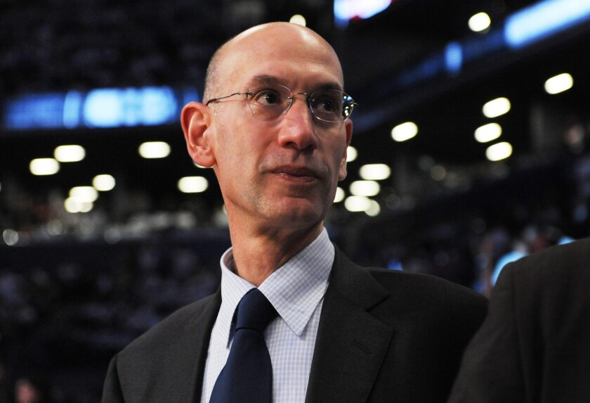 "NBA Commissioner Adam Silver went on ESPN on Wednesday and said he's ""optimistic by nature and I want to believe that we're going to be able to salvage at least some portions of this season."""