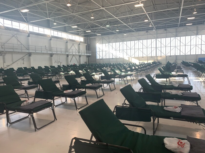 coronavirus ontario airport ca