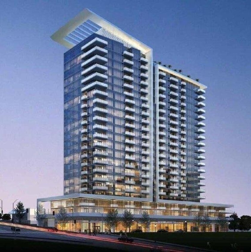 Pinnacle International has purchased the Broadway Heights project site at 11th Avenue and A Street. The previous developer won approval for this project in 2014. The designer was Joseph Wong Design Associates.