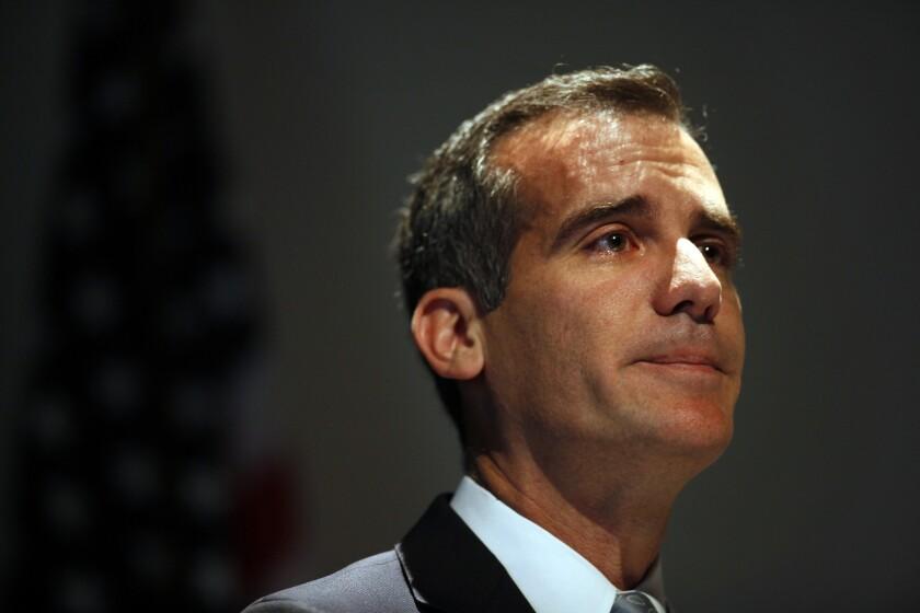 L.A. Mayor Eric Garcetti