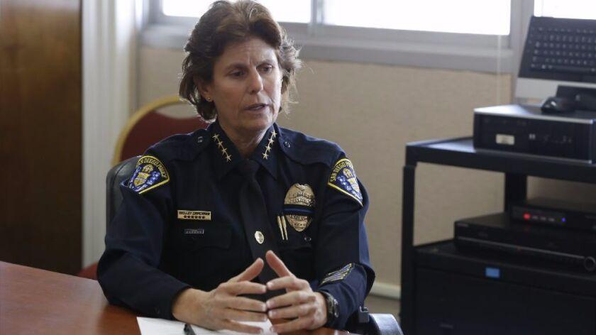 San Diego Police Chief Shelley Zimmerman.