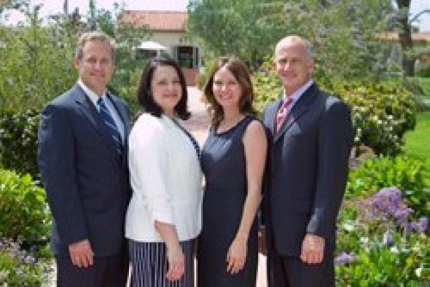 Pangaea Group at Morgan Stanley team (l-r): Daniel Morilak, Anna Thomas, Christie Lawrence, Michael Parziale