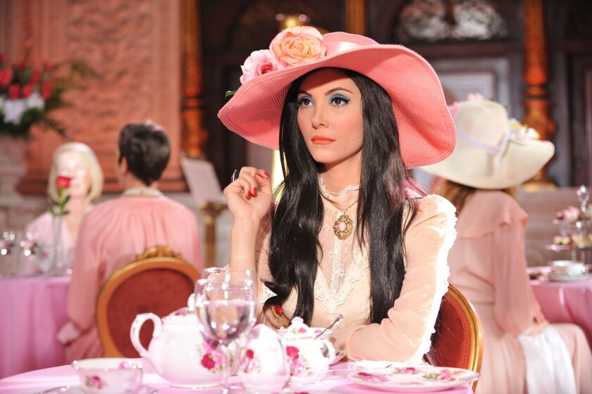 "Samantha Robinson as Elaine in ""The Love Witch."""