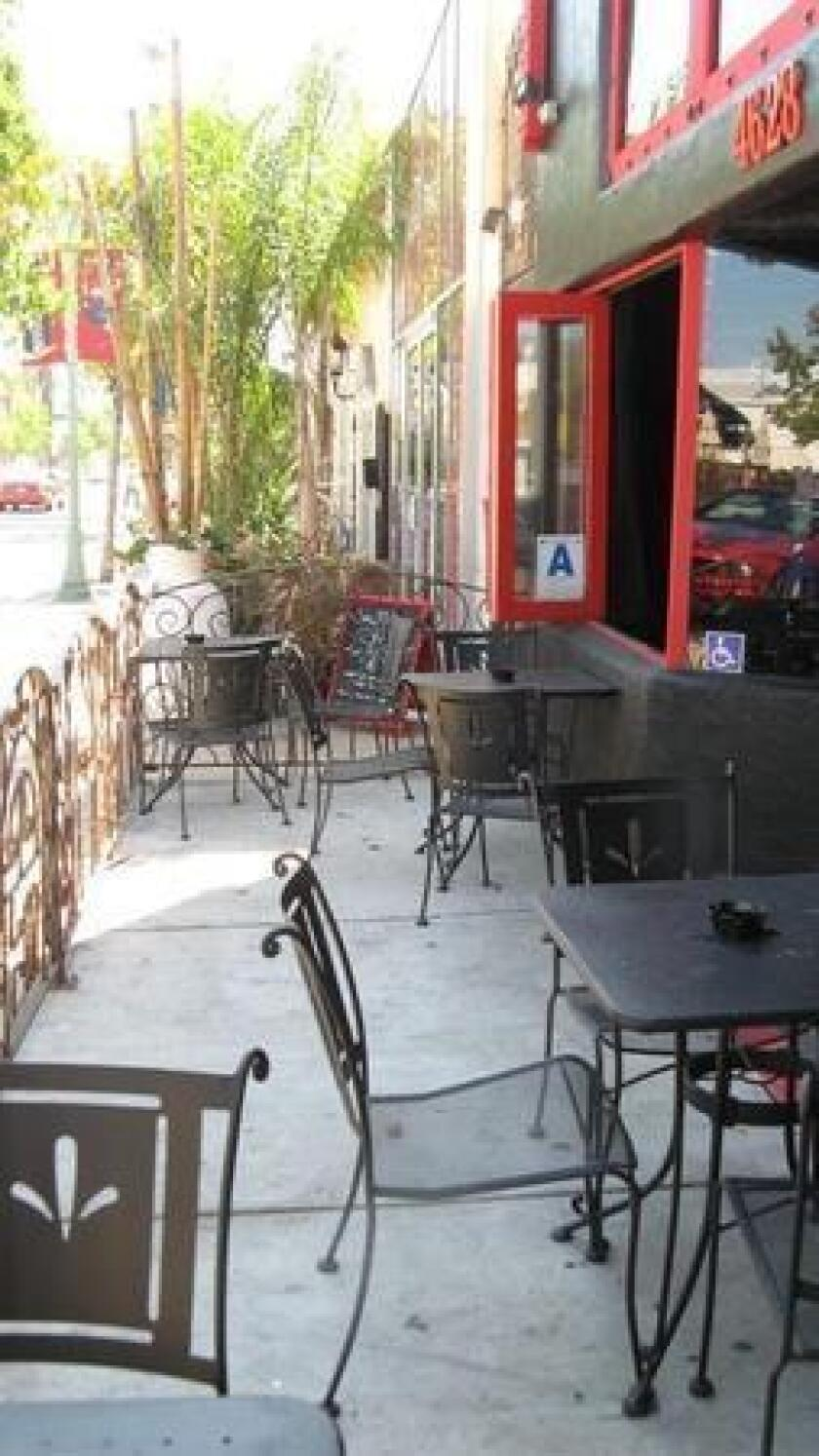 Small Bar's front patio (/ yelp.com)